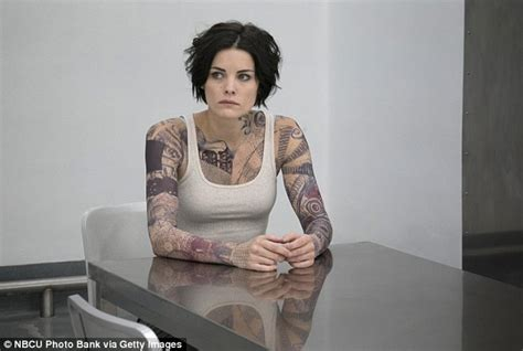 jaimie alexander tattoo blindspot s jaimie is being made sick by