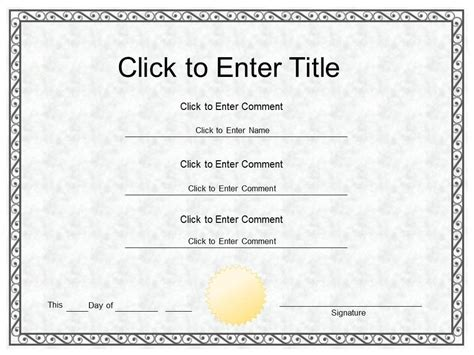 college certificate template best photos of certificate of completion editable template