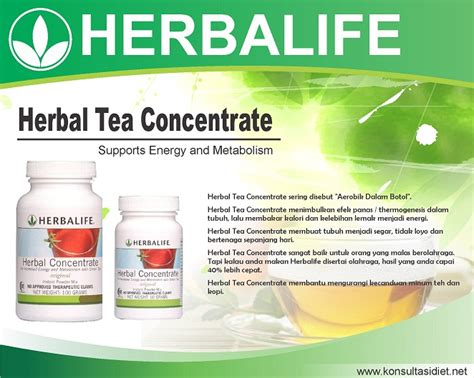 Masker Wajah Herbalife herbal tea concentrate gluteracare