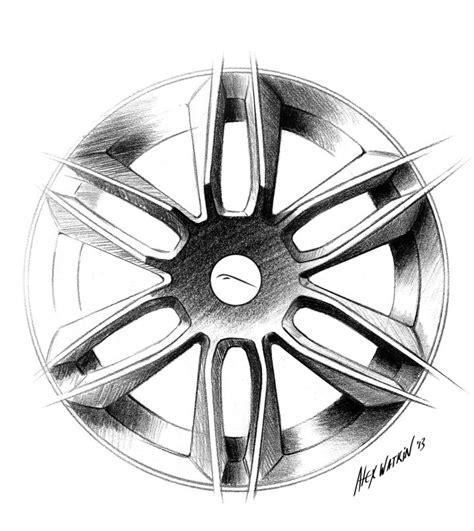 layout of wheelhouse jaguar f type coupe wheel design sketch car body design