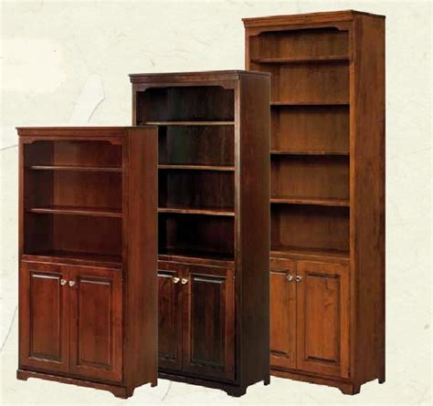 Wood Bookcase With Doors by Bookcase With Doors Solid Wood Roselawnlutheran