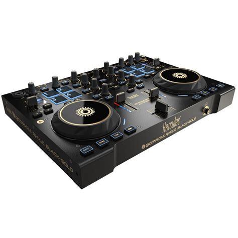 hercules dj console rmx2 hercules djconsole rmx2 black gold mesa de mezclas dj