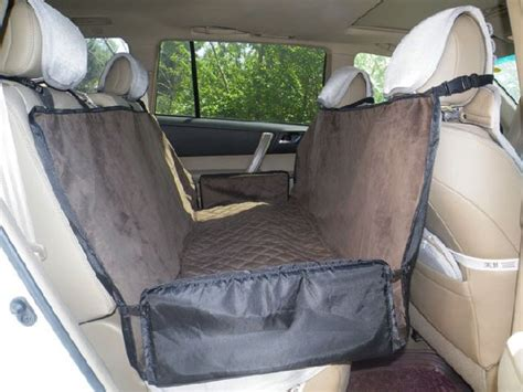 pet car seat hammock waterproof pet safety travel hammock car back seat