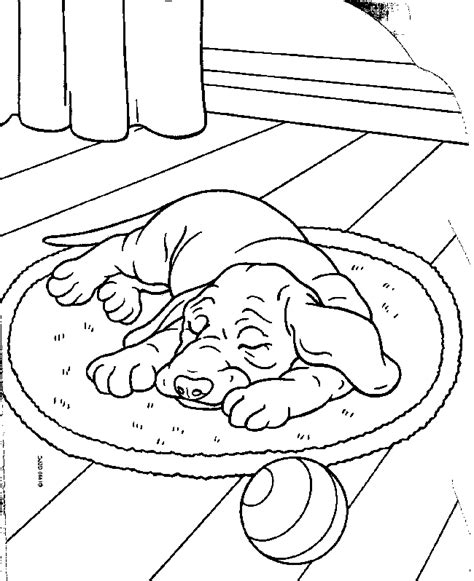 sleeping puppies coloring pages top 30 free printable puppy coloring pages online free