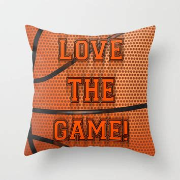 Basketball Pillows by Basketball The Throw Pillow By From Society6 Sports