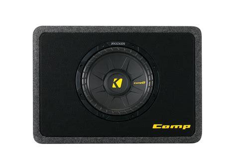 kicker car audio tcws thin profile   ohm loaded