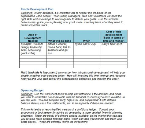 church strategic plan template sle strategic plan template 12 free documents in pdf