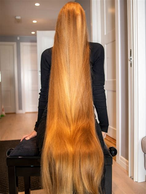 photo set extreme long hair covering realrapunzels