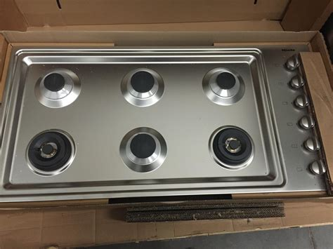 Meile Cooktop Miele Km3484 Stainless Steel 42 In Gas Gas Cooktop Ebay