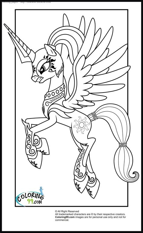 my little pony coloring pages princess cadence coloring my little pony princess cadence coloring page coloring pages