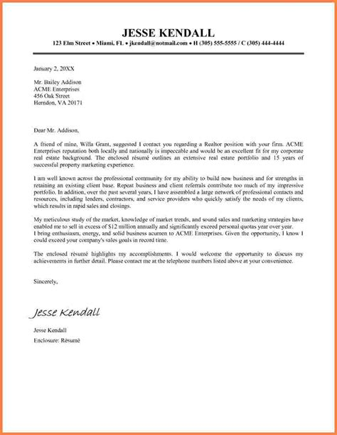 6 real estate letter templates sales intro letter