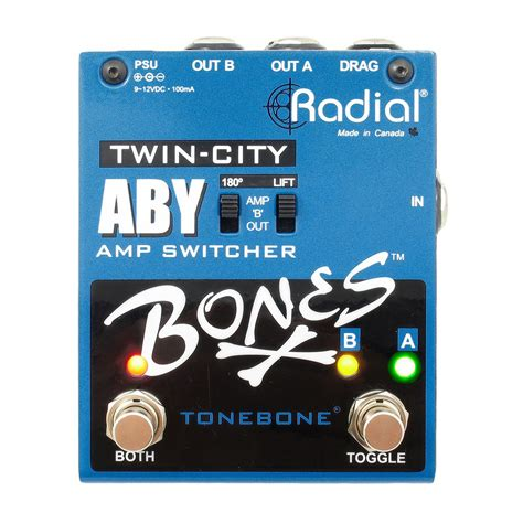 radial bones city aby switcher a gear4music