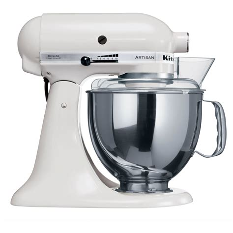 kitchen aid kitchenaid artisan stand mixer ksm150 white