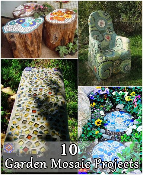 mosaic diy projects 10 garden mosaic projects diy craft projects