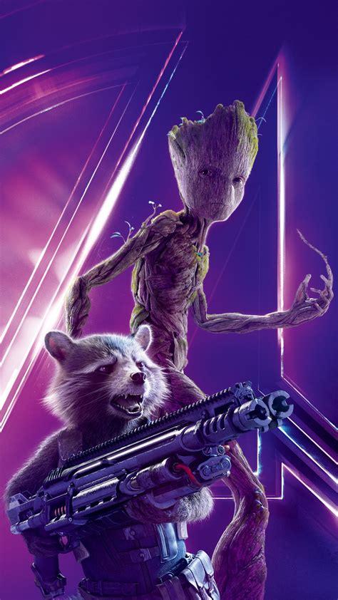 rocket raccoon  avengers infinity war   wallpapers