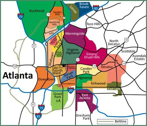 atl map moving to atlanta city or suburbs atlanta city the o jays and atlanta