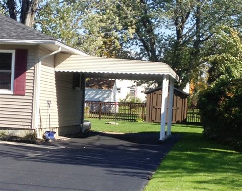 Awnings Carports by Aluminum Carport Awning White Jpg Jamestown Awning And
