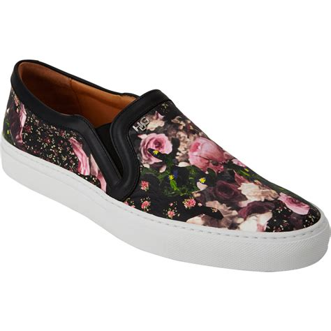 floral slip on sneakers givenchy floral print slip on sneakers at barneys