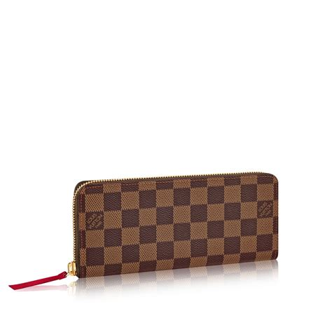 Fossil Capuccines Clemence Leather louis vuitton clemence wallet in brown damier ebene canvas lyst