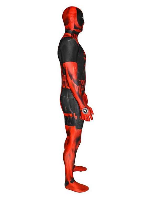 Kaos Print Umakuka Dedpool Suits morphsuit digital deadpool costume maskworld