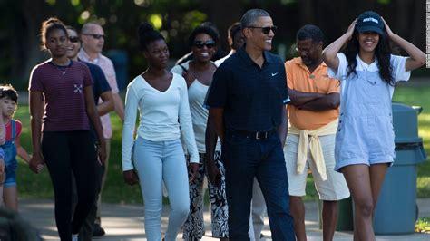 family obama malia and obama on