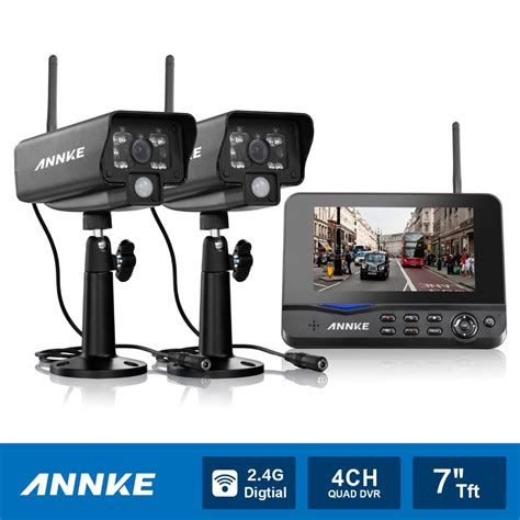 annke 7 quot tft lcd dvr 4ch digital wireless monitor wifi