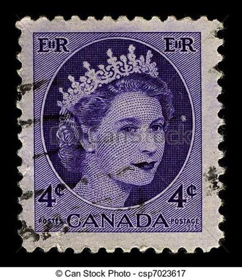 Porto Brief Schweiz Kanada Bilder Porto Briefmarke Canada Circa 1954 A Briefmarke Csp7023617 Suchen Sie