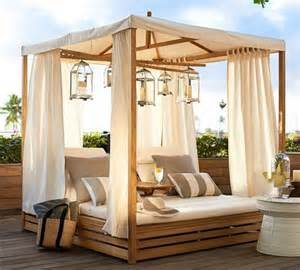 daybeds patio furniture home decor homes: teak daybed develop an oasis for relaxation in the patio or garden
