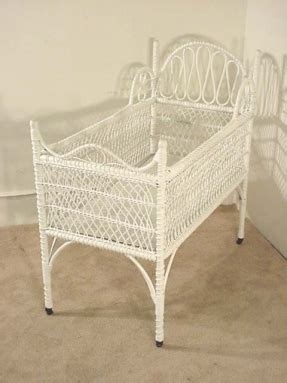 Wicker Baby Bassinet Foter Wicker Baby Crib