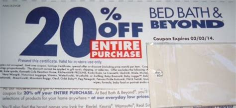 bed bath and beyond rebate bed bath and beyond rebates 28 images cuppycake s coupon corner bed bath beyond 20 off one