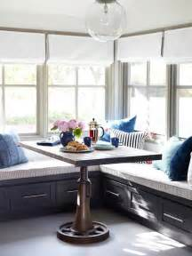 built in bench banquette seating breakfast nook