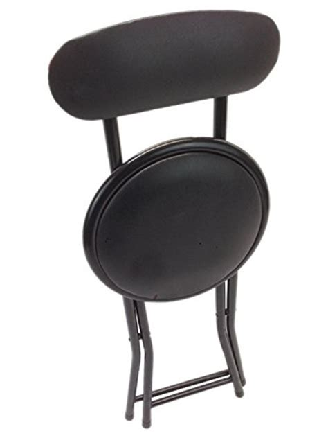 small portable chairs portable small black folding chair padded with lock