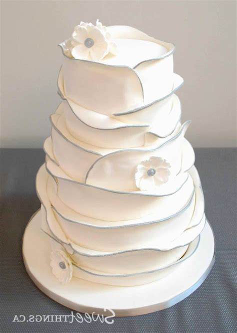 basic wedding cake designs 2 tier wedding cakes images wedding dress decoration