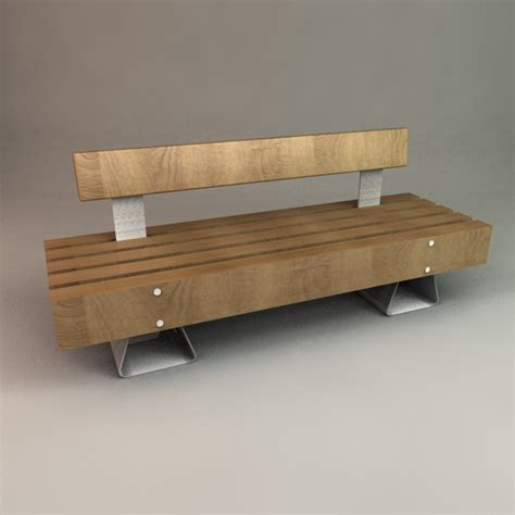 designer garden bench designer outdoor bench 3d models 3docean