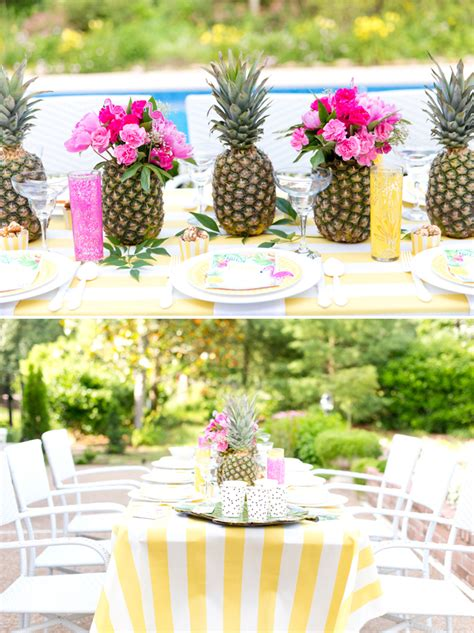 food ideas for tropical wedding shower 2 tropical bridal shower inspiration the yes
