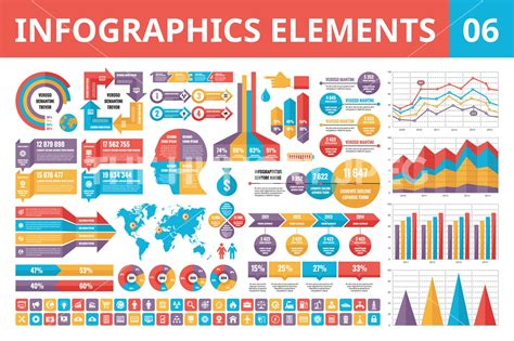 Sample Graphic Design Resumes by Infographics Elements In Flat Style By Serkorkin