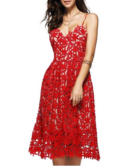 White Flower Midi Dress Size S M L cami crochet flower midi dress lace dresses m zaful