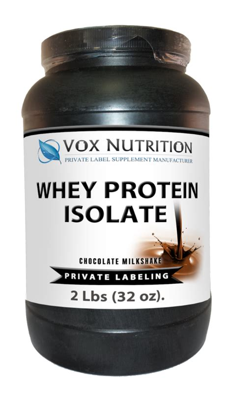 Suplemen Whey Isolate label whey protein isolate powder label