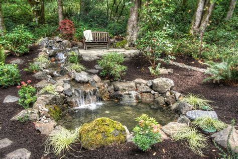Garden Pond Ideas Marvelous Backyard Ponds Decorating Ideas