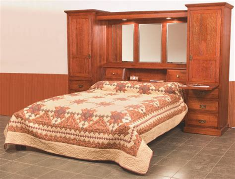Wall Unit Bedroom Set | amish bedroom sets 34