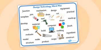 Technology And Home Design by Design Technology Word Mat Design And Technology Word Mat