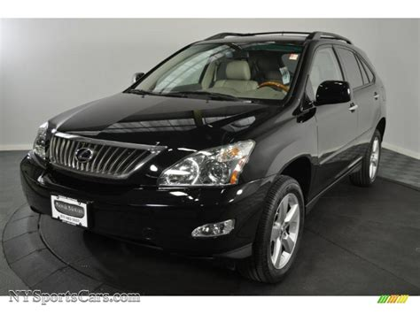 black lexus 2008 2008 lexus rx 350 awd in black onyx 096450