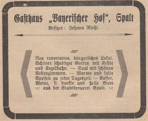 Bayerischer Hof Friseur Jahrhundertfeier Heimatverein Spalter Land E V