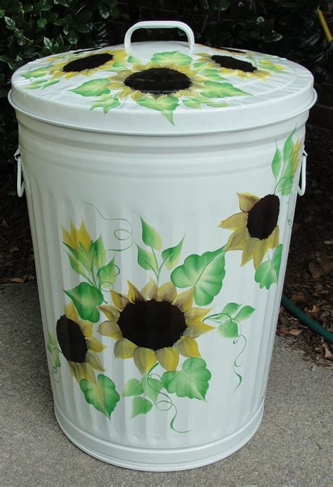 Decorative Trash Cans by Pin By Sheri Davis On Garden