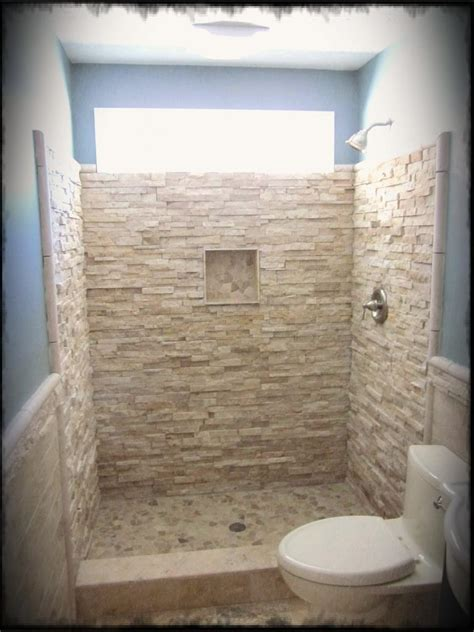 Showers Ideas Small Bathrooms Rustic Small Bathroom Ideas With Wall And Toilet Also Pendant L And Blue Wall Paint
