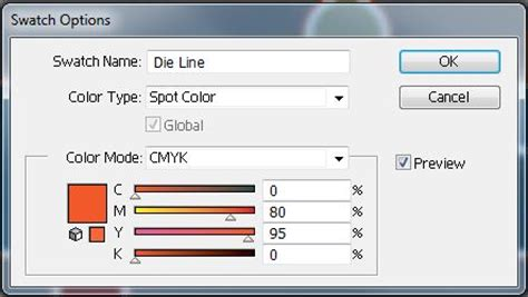 illustrator pattern options panel creating die lines for custom die cut printing in adobe