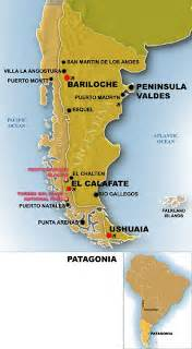 patagonia south america map patagonia map free printable maps