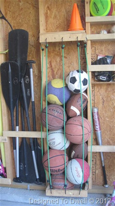 Garage Storage For Balls Designed To Dwell Garage Organization