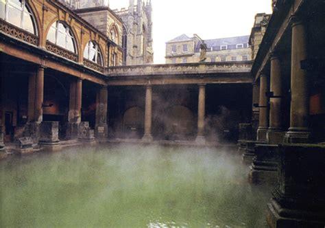 the baths at bath and caerleon