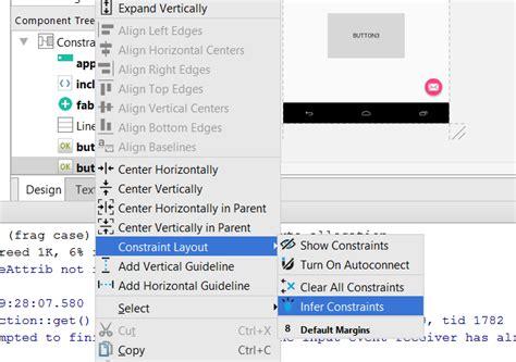 java layout constraints java items desordenados android studio 2 3 stack